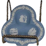 "Wedgwood Jasperware Dish In The Shape Of A ""Club"" Card Suit"