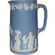 Wedgwood Light Blue Jasperware Pitcher