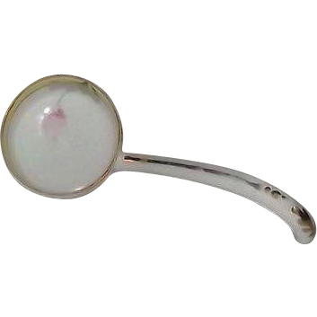 Noritake Mayo Ladle With Flower Decoration