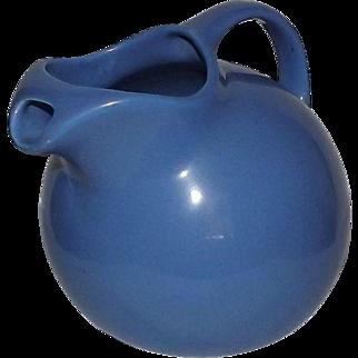 "Hall""s Blue Ball Shaped Pitcher"