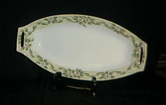 Gorgeous Vintage Nippon Celery Dish