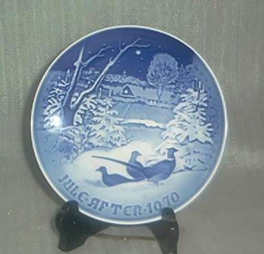 Bing & Grondahl 1970 Christmas Plate