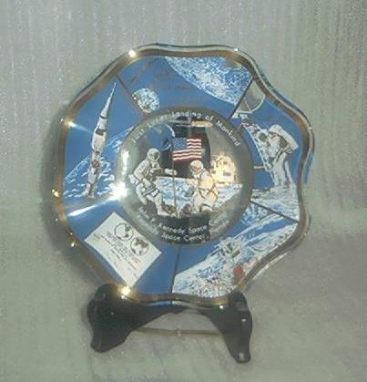 First Lunar Landing Collectors Dish