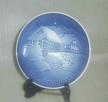 Bing & Grondahl 1975 Christmas Plate