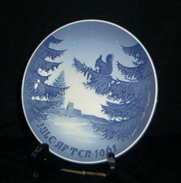 Bing & Grondahl 1961 Christmas Plate