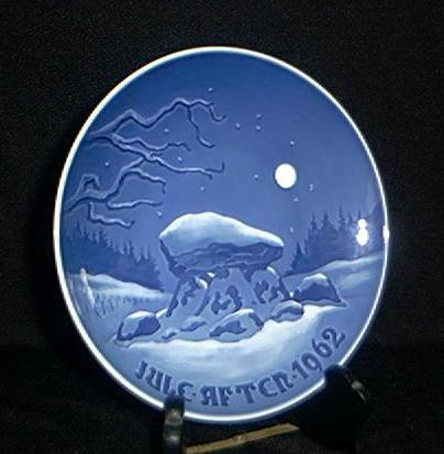 Bing & Grondahl 1962 Christmas Plate
