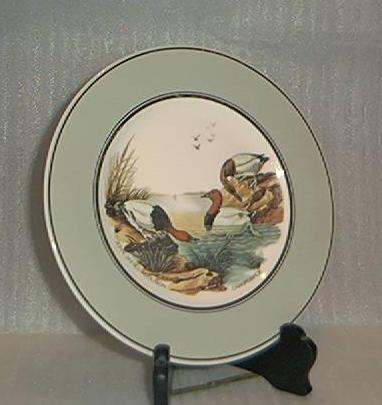 Canvasback Duck By John James Audubon Porcelain Plate