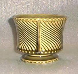 Swirl Pattern Pottery Vase