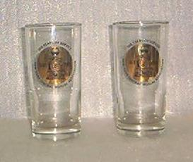 Pair of 100TH Anniversary Glasses For New York Mutual