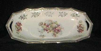 Silesia Porcelain Celery Dish