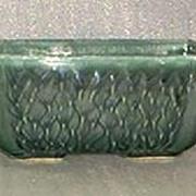 Art Pottery Green Planter
