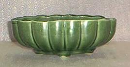 Green Pottery Planter U.S.A. 907