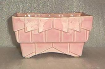 Mauve Footed Pottery Planter