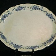 Buffalo Pottery La France Rose Platter