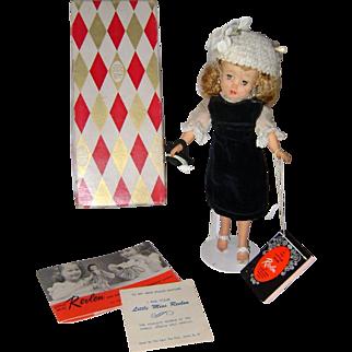 Little Miss Revlon Doll Velvet Sheath rare tea outfit fashion Coty Doll