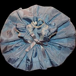 Terri Lee Doll Blue Party Dress Plastic