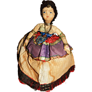 Gorgeous Vintage Russian Gypsy Tea Cozy Cosy Cloth Doll