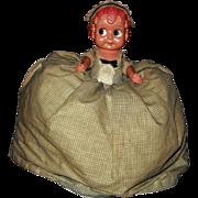 Vintage Googly Cupie Doll Tea Cosy Cozy