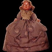 Beautiful Vintage Celluloid Tea Cozy Cosy Doll