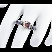GO FOR BAROQUE! Stuart Crystal/Rock Crystal/15k/Sterling Ring, c.1710!