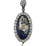 WOW! Royal Coronation Souvenir Pendant, King Charles IV of Spain, c.1788!