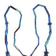 ASTOUNDING Ancient Egyptian Armana Faience Necklace, c.1200 BCE!