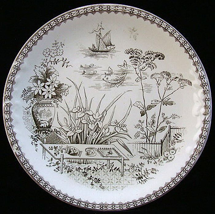 Aesthetic Era Cookie Plate ~ CAIRO 1883