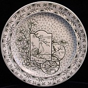 Victorian Aesthetic Plate ~ DEVONSHIRE 1885