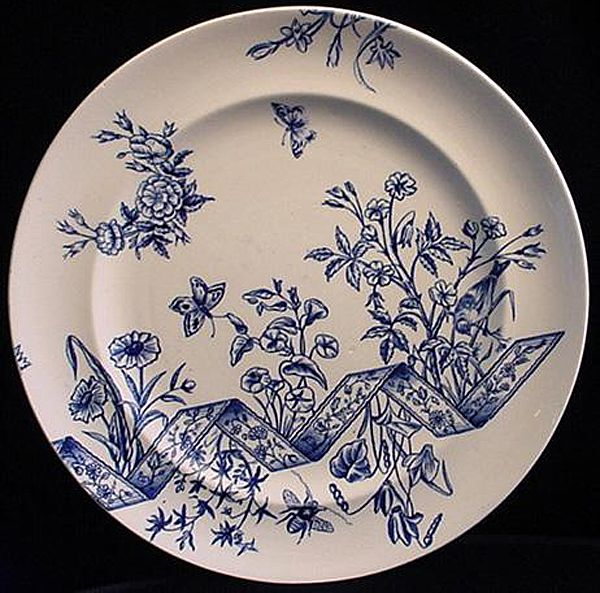 Blue Aesthetic Transfer Plate ~ HANNOVER 1889