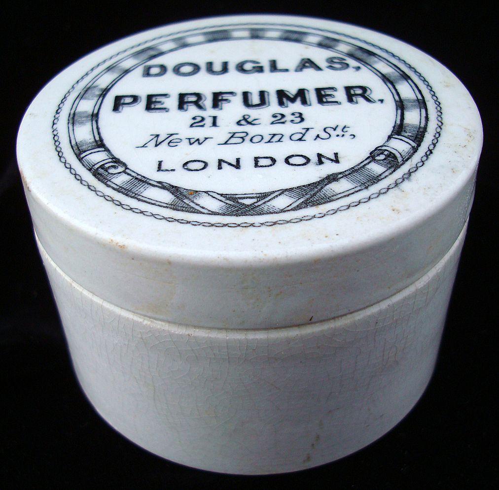 Antique English Victorian Perfume Pot ~ 1880