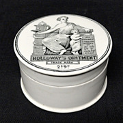 Quack Medicine Holloway's Ointment Cure-All Pot ~ 1880