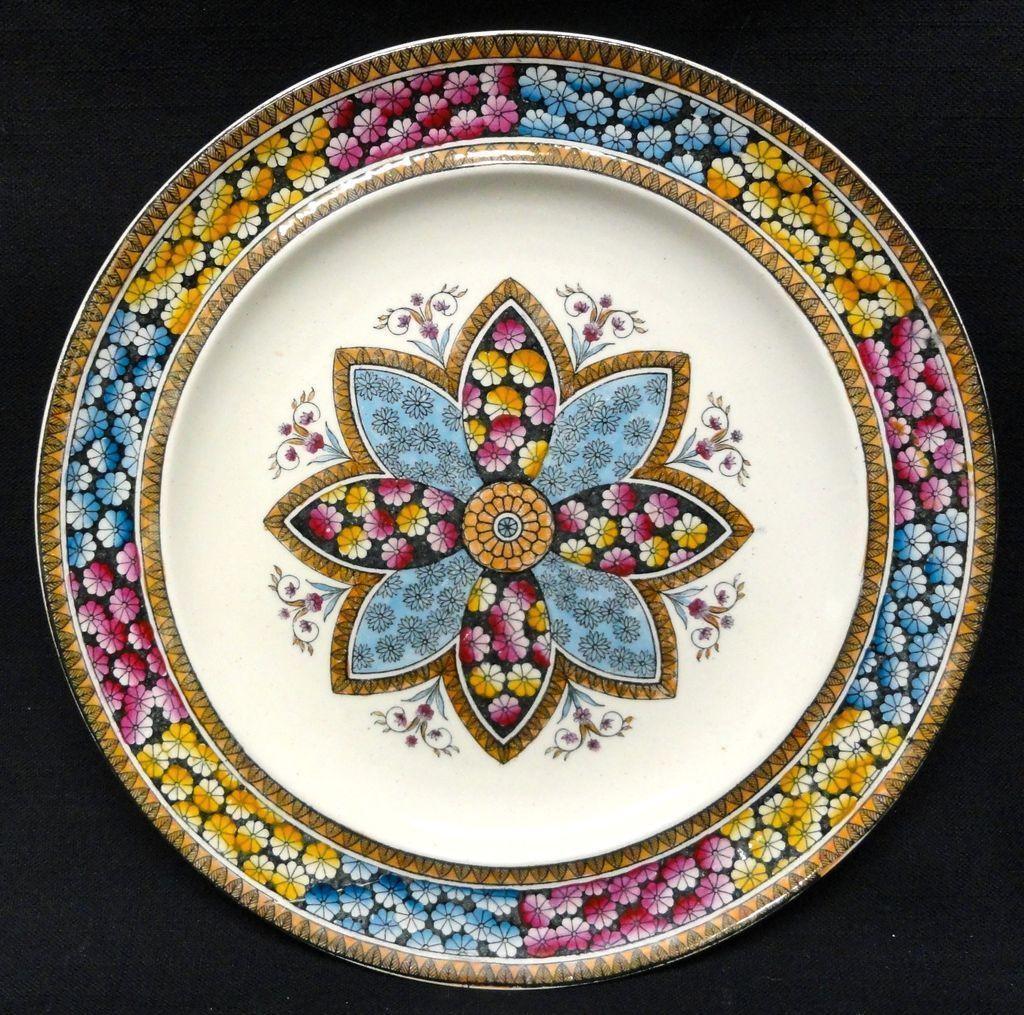 8 ~ Elegant English Victorian Plates ~ PRIMROSE 1881