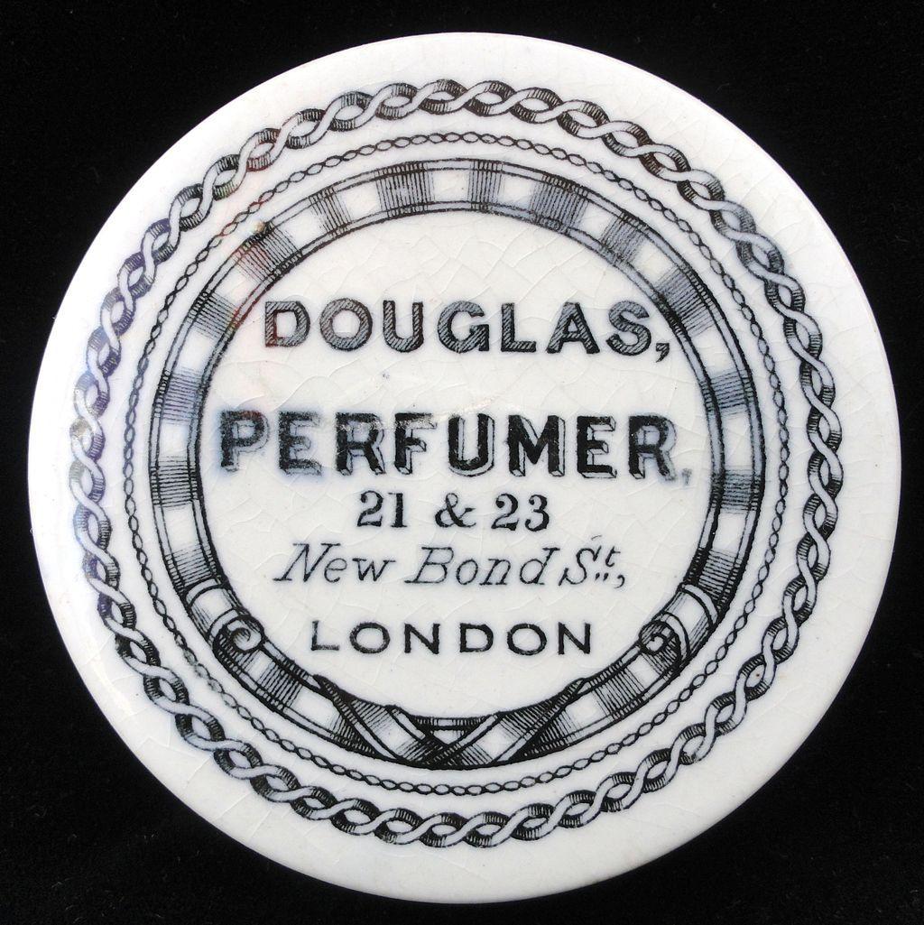 English Victorian Perfume Perfumer Pot ~ 1880