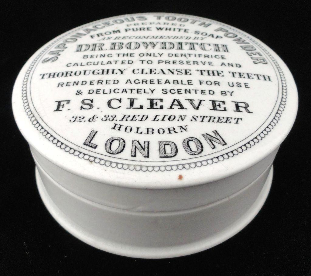 Rare Quack Medicine Saponaceous Tooth Powder 1880