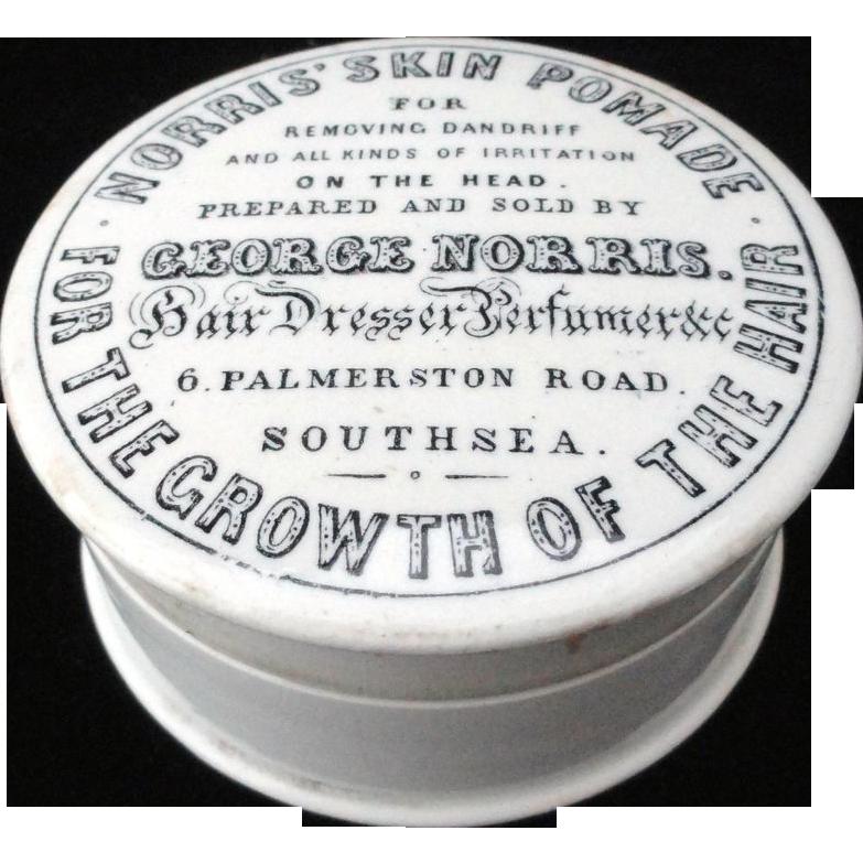 Rare Pomade Quack Cosmetic Pot ~ 1890
