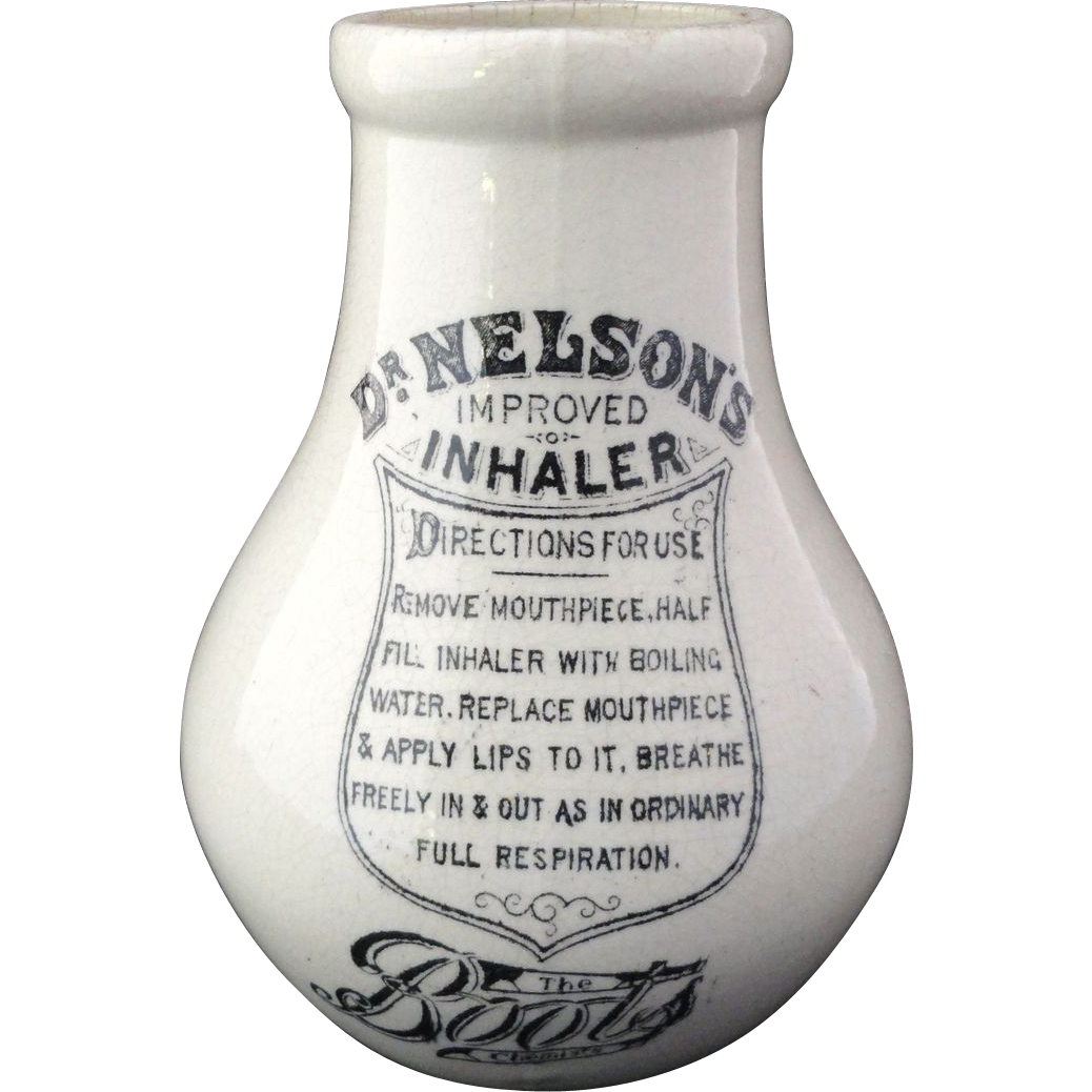 Dr. Nelson's Improved Inhaler ~ 1900
