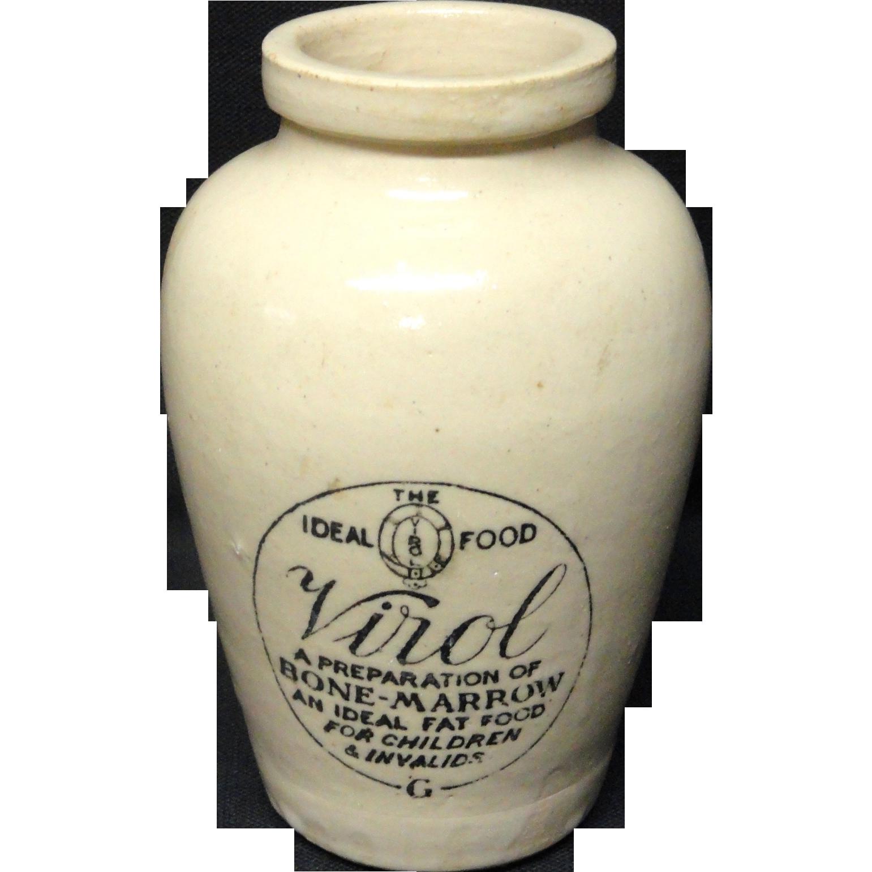 Large Quack Medicine ~ Invalid Food VIROL ~ 1880