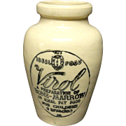 VIROL Quack Medicine ~ Invalid Food ~ 1880