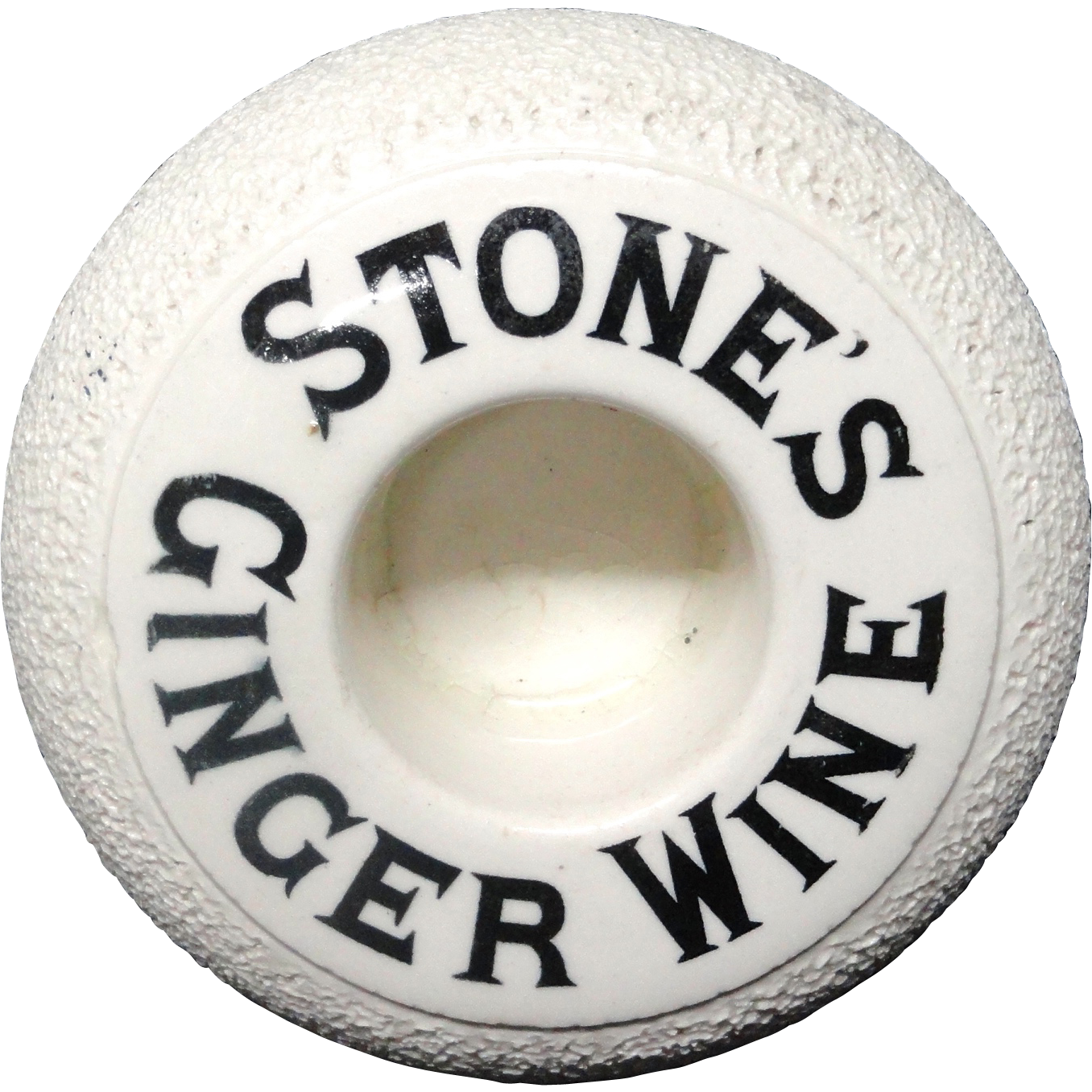 Victorian Stone's Ginger Wine ~ Match Strike c1900