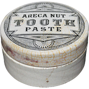 English QUACK MEDICINE Areca Nut Tooth Paste ~ 1880