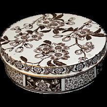Rare Wedgwood Creamware Dresser Jar ~ Pot & Base Etruria Staffordshire 1885