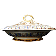 Antique Outstanding English Covered Tureen ~ CYPRUS 1885