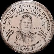 Quack Medicine Heal ~All Ointment Pot ~ 1880