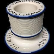 c1900 ~ APOLLINARIS Table Water Match Strike