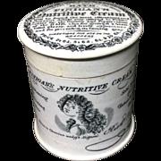 1850 ~ Finigan's Nutritive Cream for the Hair ~ Quack Medicine