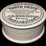 1890 ~ English Quack Medicine CHERRY Tooth Paste ~ 1890