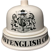 English Ironstone Finest English Cheeses Dairy Shop Display Stand