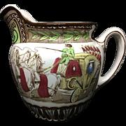 1906 ~ Rare Cinderella Buffalo Pottery Pitcher Jug