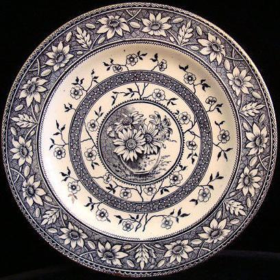Aesthetic Sunflowers Flower Pot Plate 1883