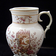 Perfect Aesthetic Polychrome Pitcher 1884